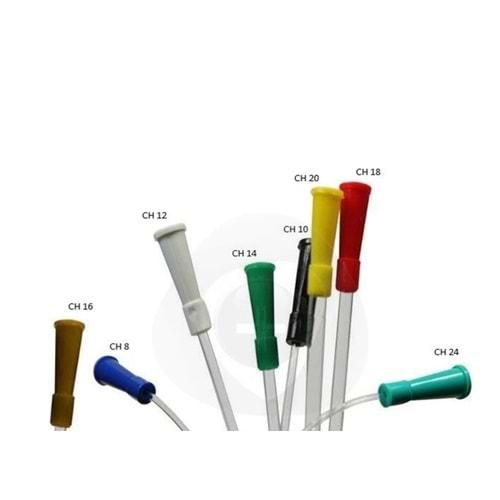 Tak Hidrofilik İdrar Sondası Bayan 20 Cm Ch 16