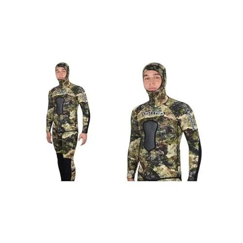 Apnea 7mm Evolution Kamuflaj Avcı Dalış Elbisesi