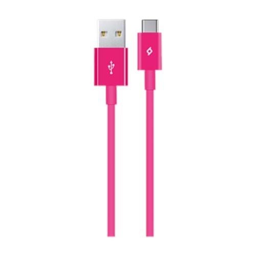 AKSESUAR TTEC 2DK12P USB CABLE TYPE-C PEMBE