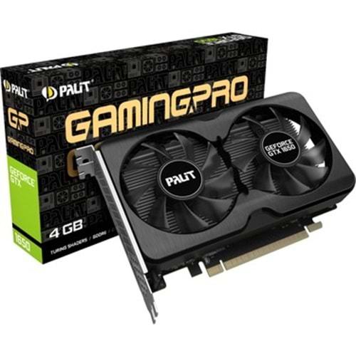 EKRAN KARTI PALIT GTX1650 GAMINGPRO OC 4GB 128bit DDR6