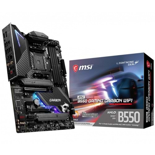 ANAKART MSI MPG B550 GAMING CARBON WIFI DDR4 AM4