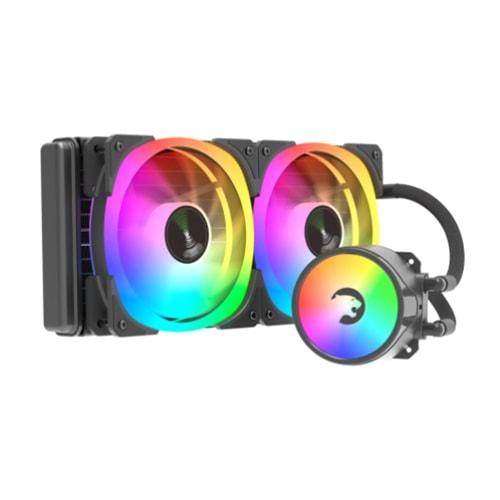 İŞLEMCİ FANI GAMEPOWER SKADI 240 RGB CPU SIVI SOĞUTMA 240MM