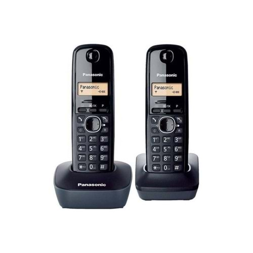 TELEFON PANASONIC KX-TG1612 İKİLİ