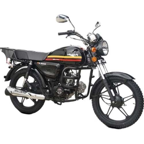 KUBA X-BOSS 50 MOTOSİKLET(SİYAH)